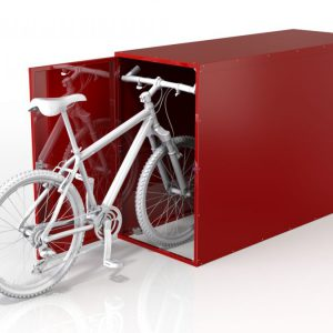 Bicycle single locker economy